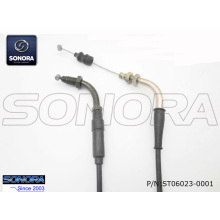 Top for Baotian Scooter Throttle Cable, Benzhou Scooter Throttle Cable, Qingqi Scooter Throttle Cable from China Manufacturer BT49QT-11A3  BAOTIAN Throttle cable assy. export to Indonesia Supplier