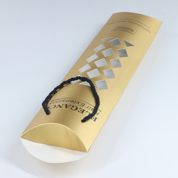 Luxury Hair Bundle Wig Packaging Box Bag Paper