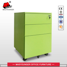Europe style for for Mobile Pedestal 3 Drawer High Quality Metal Mobile File Pedestal With Wheels supply to Botswana Suppliers