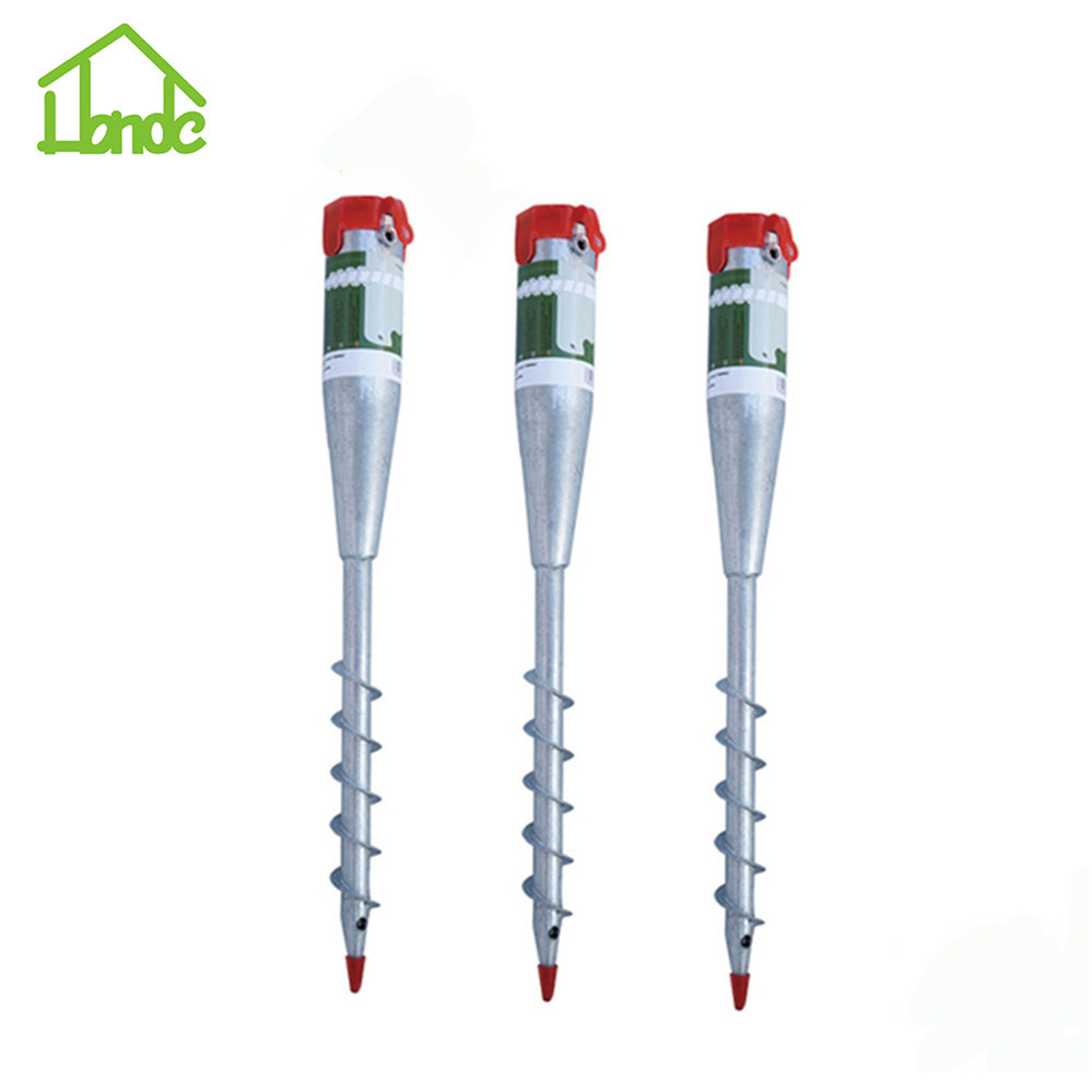 Hot galvanized ground screw pole anchor for sale