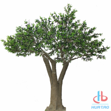 PE Leaves Artificial Olive Tree