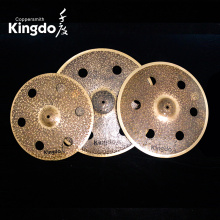 Best Quality for Offer O-Zone Cymbals,Cymbals With Holes,O-Zone Effect Cymbals From China Manufacturer 100% Handmade Hole Cymbals supply to Cyprus Factories