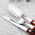 Ikea Wood Handle Stainless Steel Cutlery Wholesale