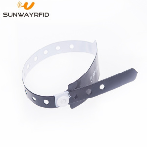 New Fashion Design for for Pvc Disposable RFID Wristbands Waterproof PVC Hospital Id Tag Rfid Medical Bracelet export to American Samoa Manufacturers