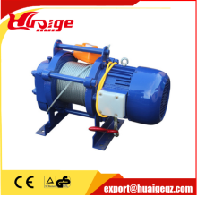 380V KCD electric winch  wire rope hoist