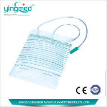 OEM for Urinary Drainage Bag With T Valve,Disposable Urine Collection Bag,Disposable Pediatric Urine Collection Bag,Urine Drainage Bag For Children Wholesale From China 2000ml Disposable Urinary Drainage Bag export to Tunisia Manufacturers