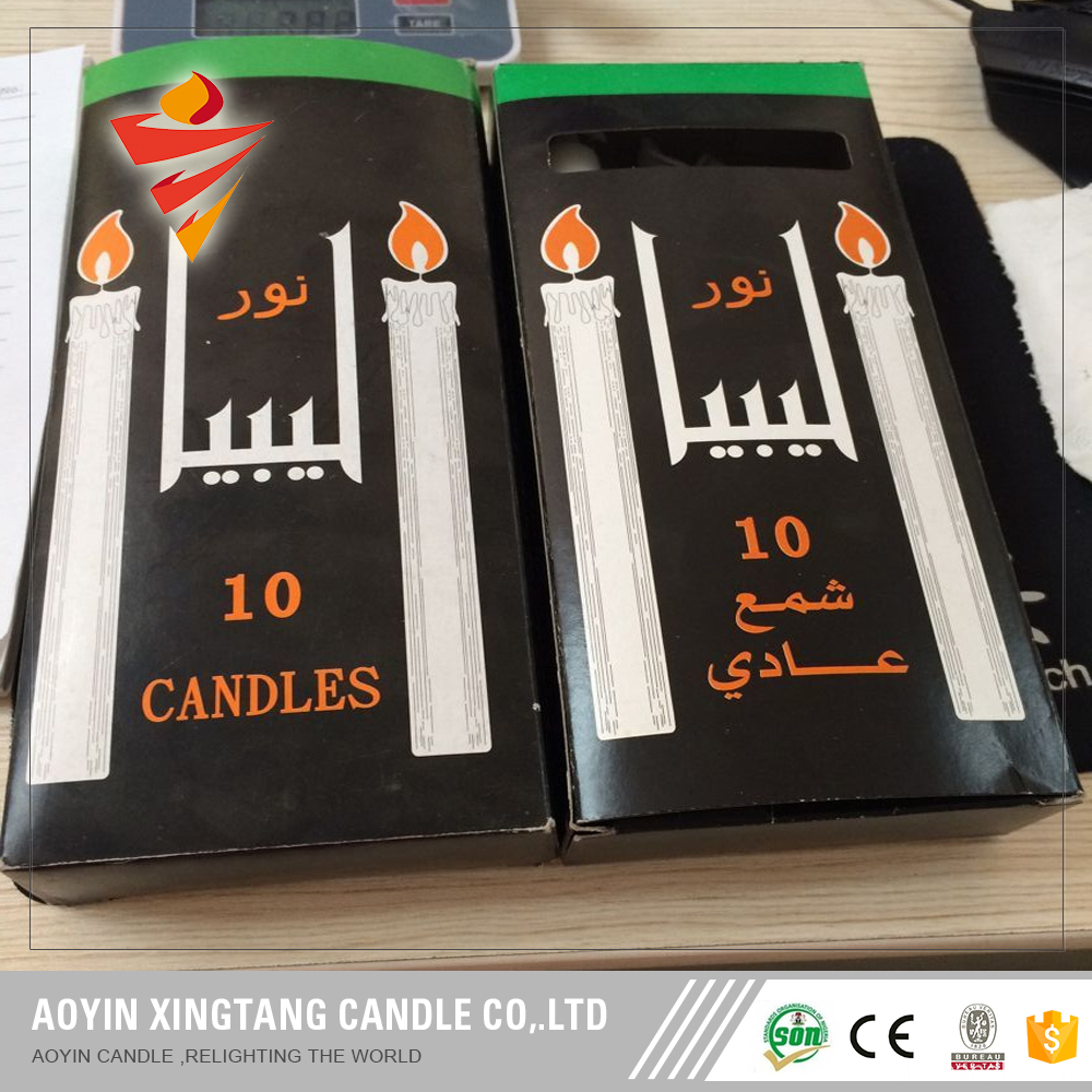 15g Good Quality White Smokeless Candle