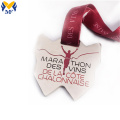 Custom marathon sports metal medal for honor