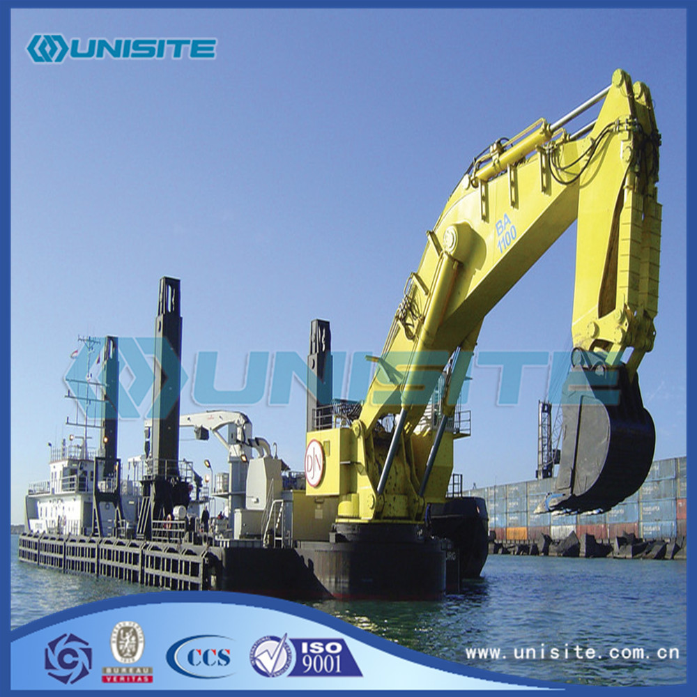 Chain Bucket Dredger