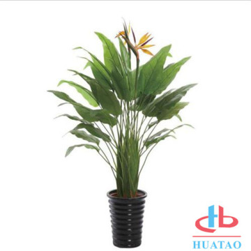 Decorative Plastic Potted Plant Artificial Plant