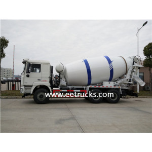 SHACMAN 6 CBM 10 Wheel Cement Mixer Trucks