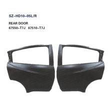 China for Offer Doors For HONDA,Honda Accord Door Replacement,Honda Civic Door Skin From China Manufacturer Steel Body Autoparts Honda 2015 HRV/VEZEL REAR DOOR supply to Latvia Exporter