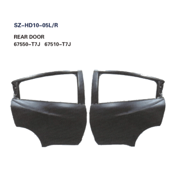 Steel Body Autoparts Honda 2015 HRV/VEZEL REAR DOOR