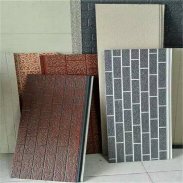 Fire rated PU foam exterior sandwich wall panel