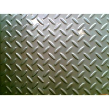 Stainless steel decorative pattern pedal