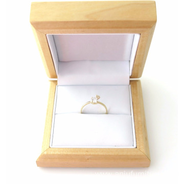 Luxury Wooden Natural Pine Jewellery Gift Box