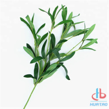 Artificial Green Olive Oil Leaves