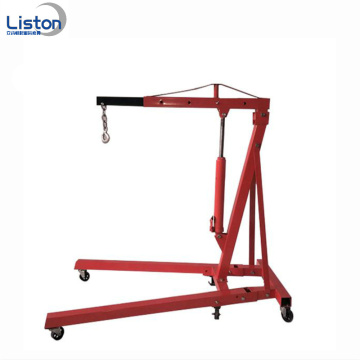 Portable folding 2ton shop engine crane