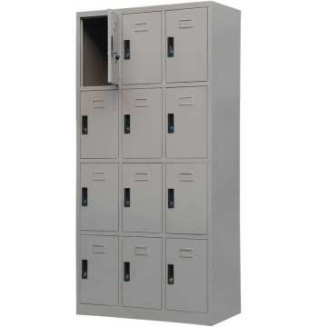 school use 12 Compartment door steel locker
