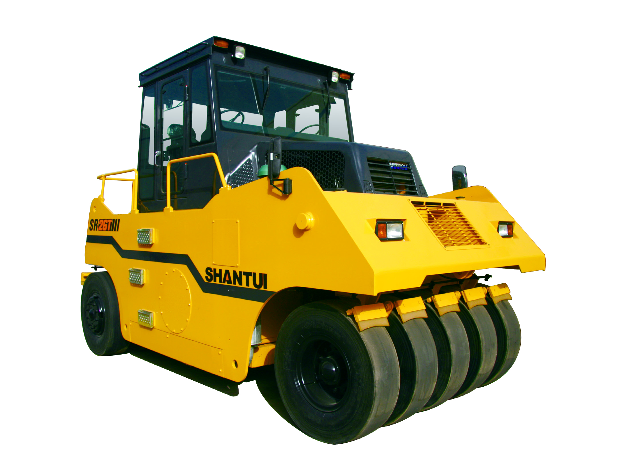 26 Ton Pneumatic Road Roller