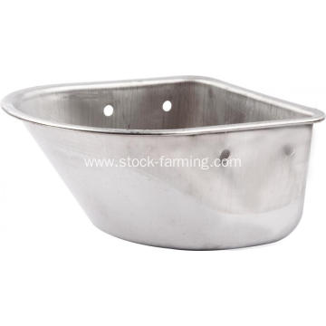 Pig farm drinking system stainless steel basin