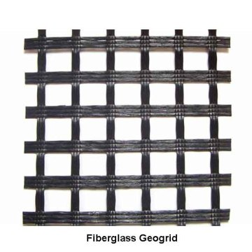 Factory supplied for Composite Glass Grid Asphalt Pavement Coated Fiberglass Geogrid supply to Sweden Importers