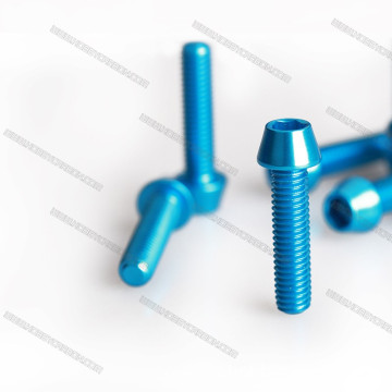 M3 Anodized 7075 Aluminum Socket Hex ຫົວສະກູ