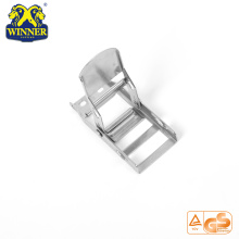 Steel White Zinc Overcenter Buckles Webbing Buckle