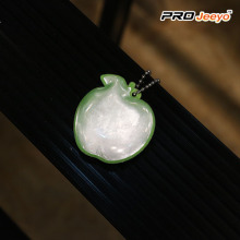 Reflective Safety Greenapple Soft PVC Keychain Kids Pendant