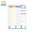 Ụda kpakpando Magnetic Star Sticker Chore Chart For Kid