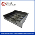 Accordion Protection Steel Telescopic Cover For Machine Tool