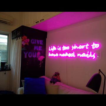 NAILS STORE NEON SIGN Cahya