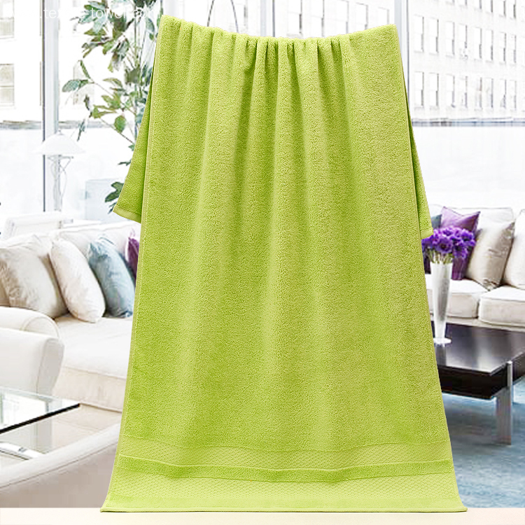 Essential Plain True Colors Bath Towels Collection