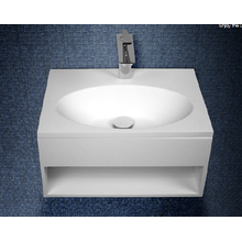 Best Price for for Acrylic Back To Wall Bathtub Acrylic stone resin wall-hung washbasin for bathroom supply to St. Helena Supplier