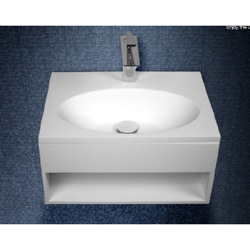 Manufacturer of for Indoor Back To Wall Bathtub Acrylic stone resin wall-hung washbasin for bathroom supply to Togo Exporter