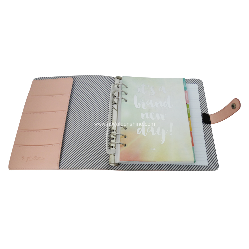 PU Cover Planner Agenda Journal