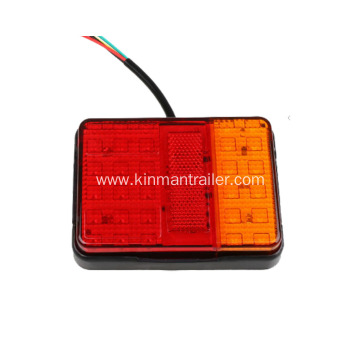 LED Tail Light For Flat Bed Trailer