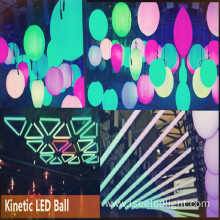 Kinetic DMX led ball Madrix compatible