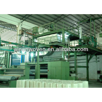 spunbonded nonwoven fabric making machine