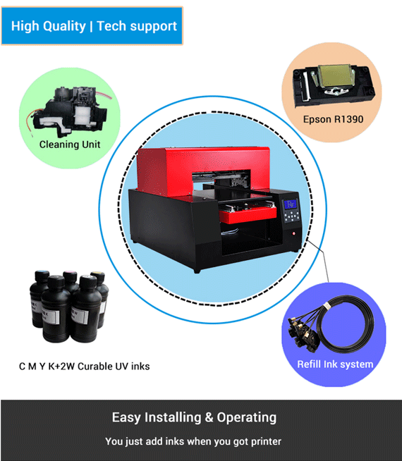 A1 Flatbed Printer