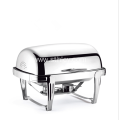 High Quality Hotel Restaurant Stainless Steel Buffet Stove