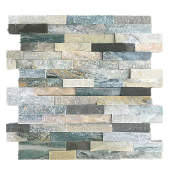 Grean Natural Stacked Ledgerstone Decorate Outside Wall