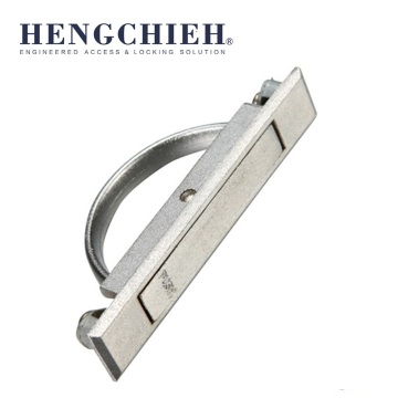 ZDC Chrome-plated Press Switch Hidden Cabinet Handles