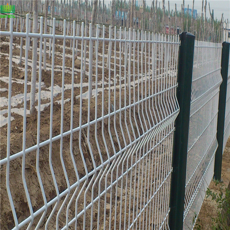 PVC Coated Wire Mesh 3d Panel