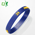 Personalized Cool Fashion Unique Blue Silicone Bracelets