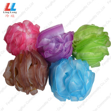 China for Mesh Sponges Bath Ball Shower Accessories Mesh Bathroom item bathing silky sponge supply to Netherlands Manufacturer