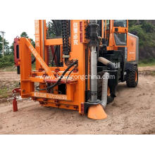 Hot Sale for Rough Road Used Pile Driver Highway Guardrail Post Driver supply to Angola Exporter