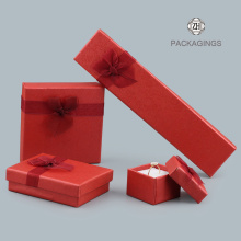 Foam insert small red necklace packaging box