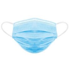 3 Ply Disposable medical face Mask 3-ply Face With Earloop with  CE FDA