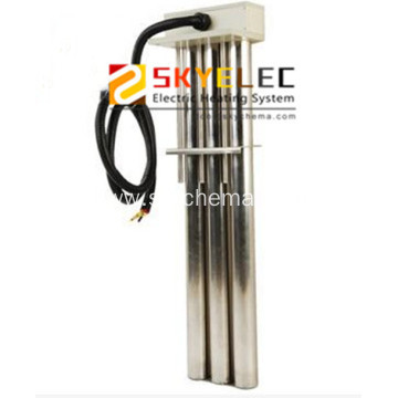 Industrial 3 tubes titanium immersion 9kw tubular heater